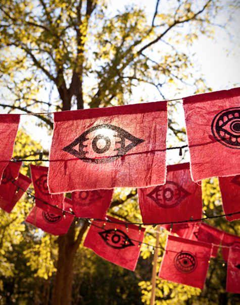 Pin By Bullzara On Plants Garden Spaces Tibetan Prayer Flag Prayer Flags Wedding Flags