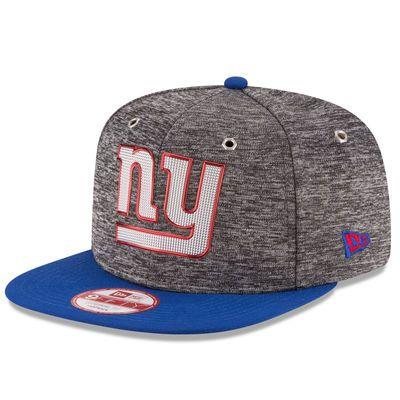 378c1304b13 Men s New York Giants New Era Heathered Gray Royal 2016 NFL Draft Original  Fit… Snapback HatsNflNfl ...