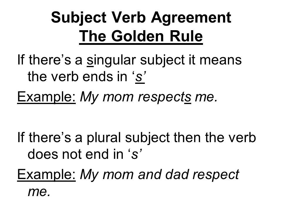 Pin By Study Study On Subject Verb Agreement Pinterest Subject