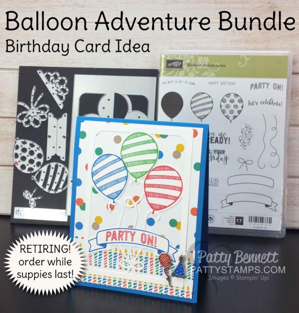 balloon adventure birthday card idea retiring balloon pop up