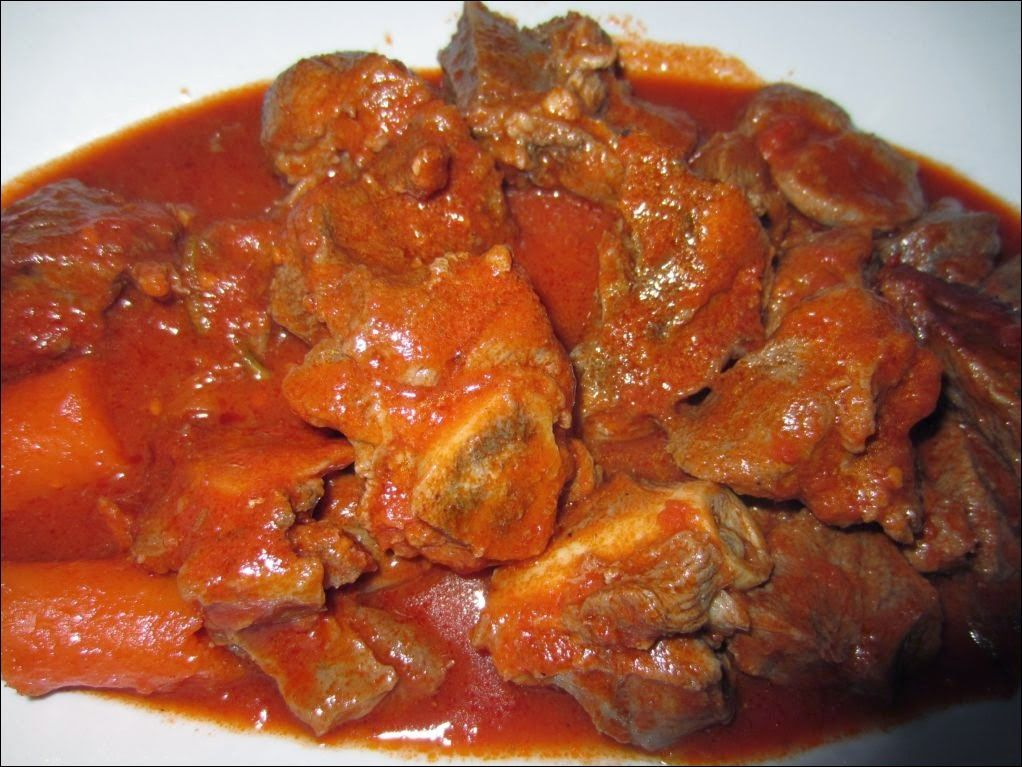 Photo of AmicoMario: FLAVORS OF SARDINIA: STEWED SHEEP AND CAUCE SAUCE …