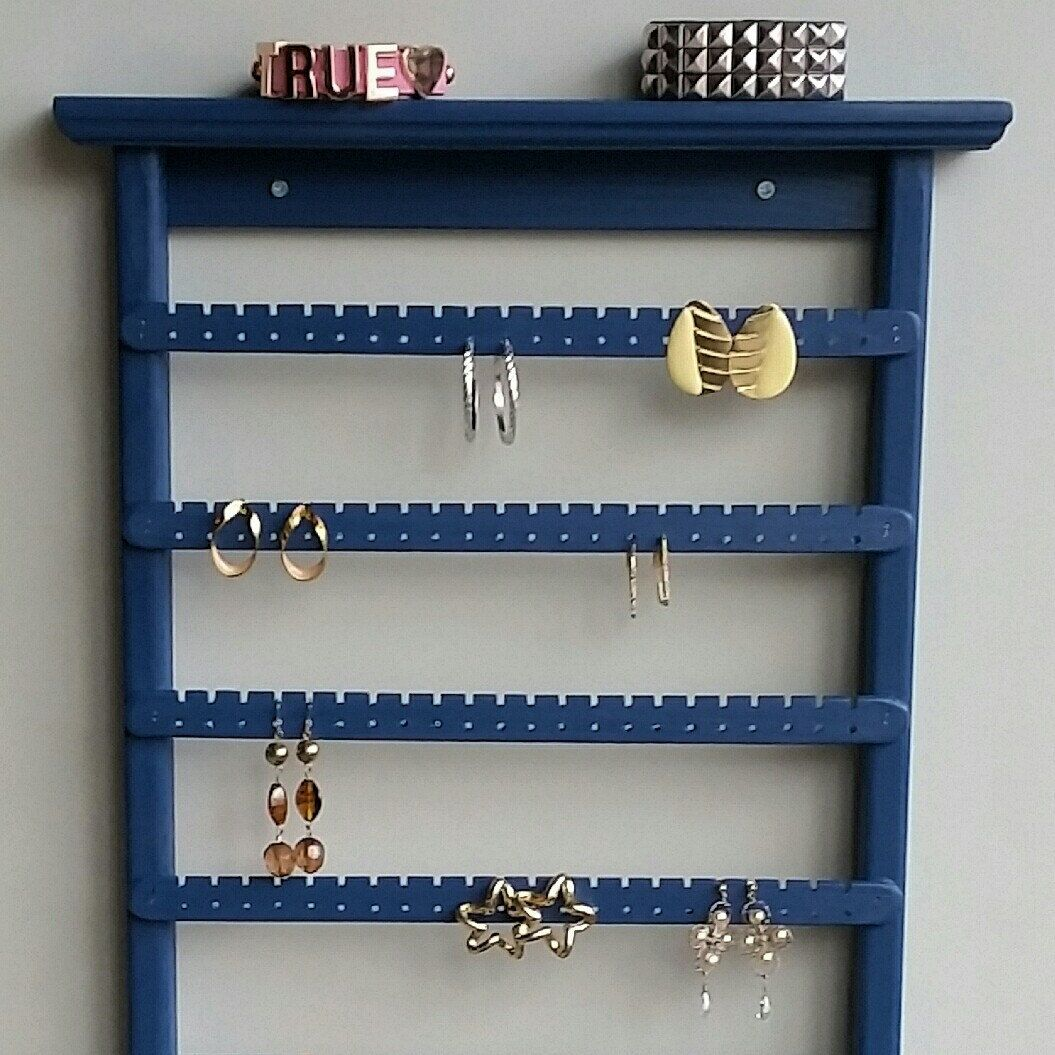 Earring holder Jewelry Organizer Necklace Holder Wall Mounted