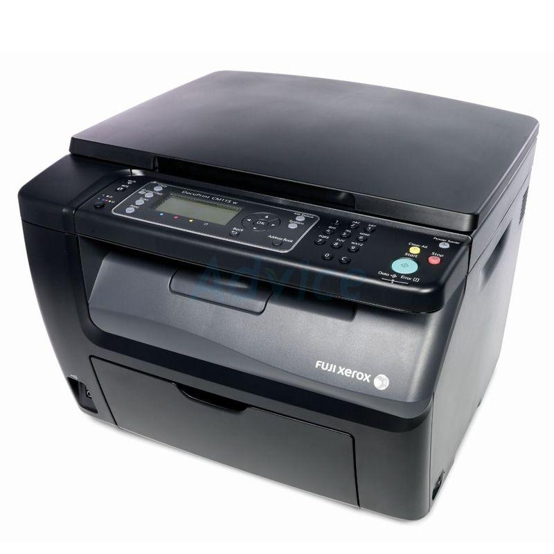 Fuji Xerox Color Cm115w Printer Laser Printer Color