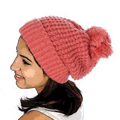 TOPSELLER! Simple Pom Pom Knit Hat $14.95