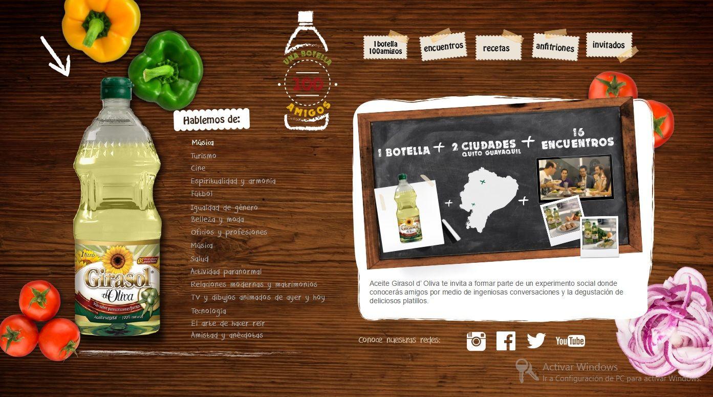 1 Botella 100 Amigos de nuestro cliente Girasol está dando de qué hablar. Compartimos la nota de prensa publicada en la revista especializada en marketing Markka Registrada #1Botella100Amigos #Ecuador #MarketingDigital