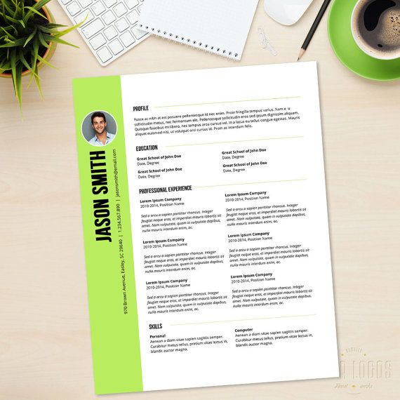 Resume Cover Letter CV Professional Curriculum Vitae by LucaLogos