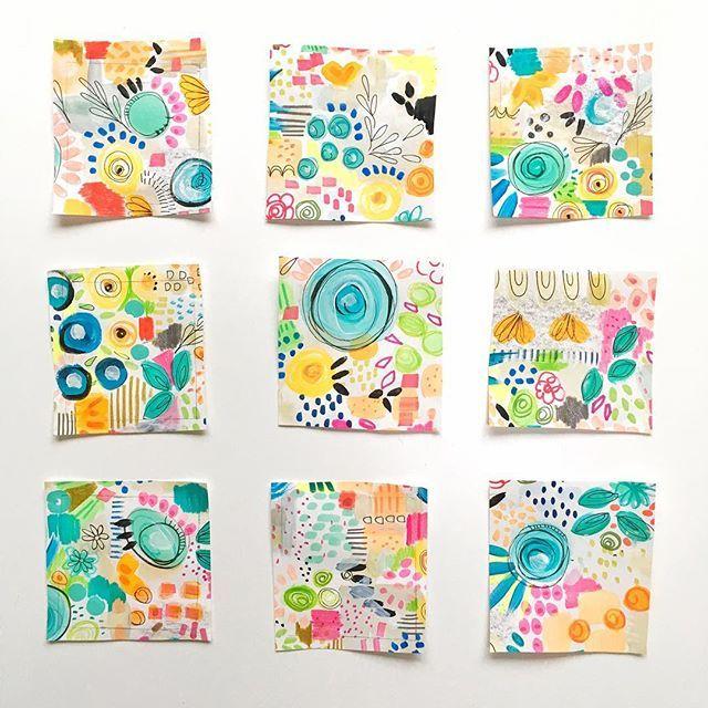 Julie Hamilton in 2019 | Art journal pages, Pattern art ...