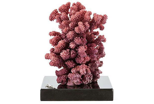 """Purple Lace Coral  -  PHILMORE USA  -  7"""" x 7""""  -  OneKingsLane.com   -  ($500.00)  $229.00"""