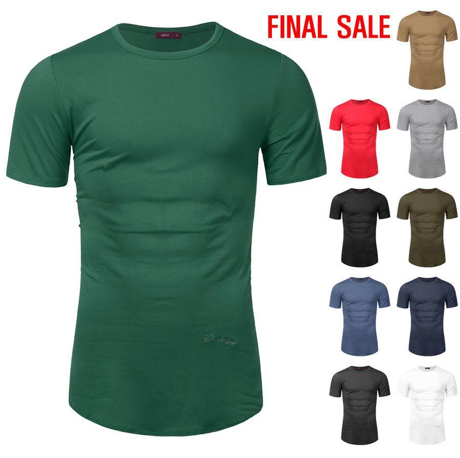 5077b33b US-DEALS [FINAL SALE]Doublju Mens Round Neck Short Sleeve Long T-Shirts:  $5.99 End Date: Wednesday Mar-21-2018 17:37:39 PDT Buy…%#USDeals%