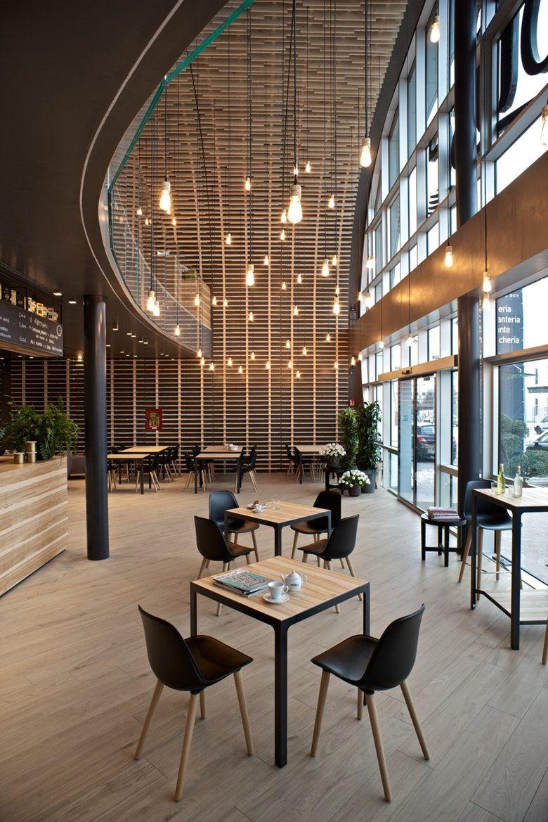 Progetto cmr firma il primo flagship bar caff vero for Rivista interni