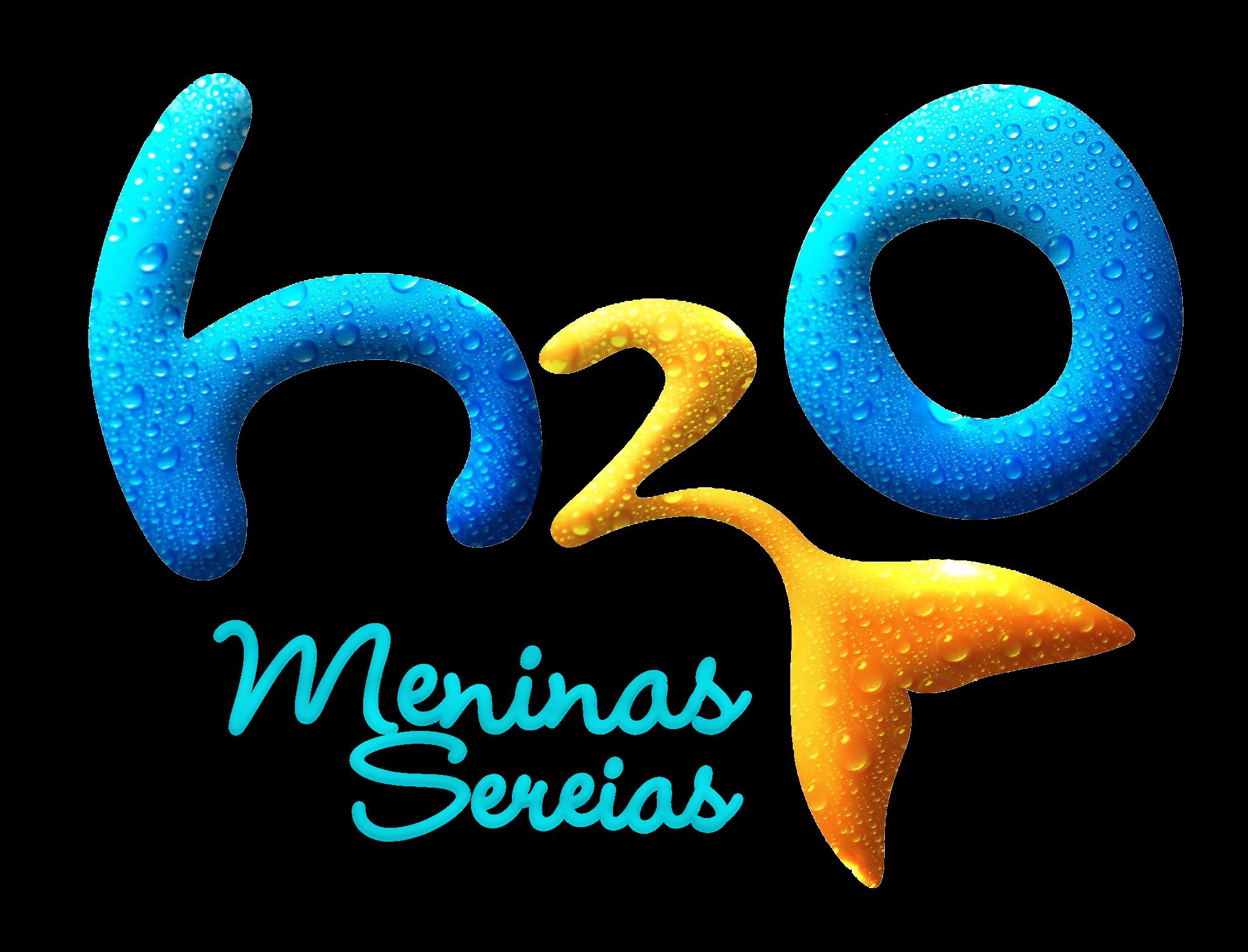 H2O Meninas Sereias Logo em 2020 Sereias h2o, Meninas