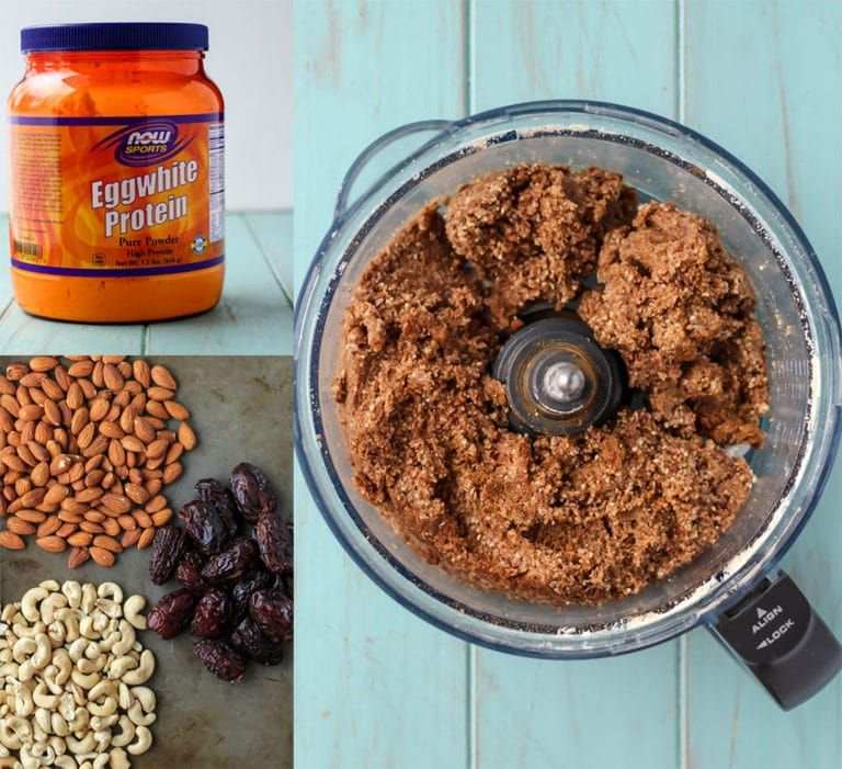 4ingredient homemade protein bars whole30 recipe