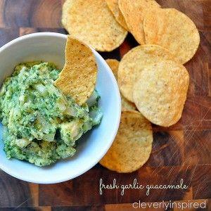 Fresh Garlic Guacamole -- Tatertots and Jello