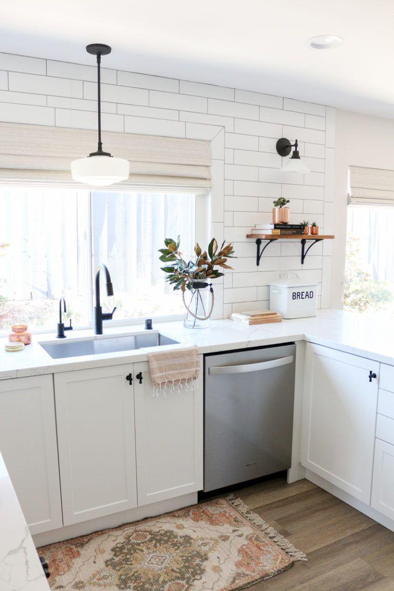 10x10 Bedroom Layout Ikea: White Semihandmade Kitchen Renovation: Before + After