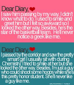 Quote Dear Diary Love