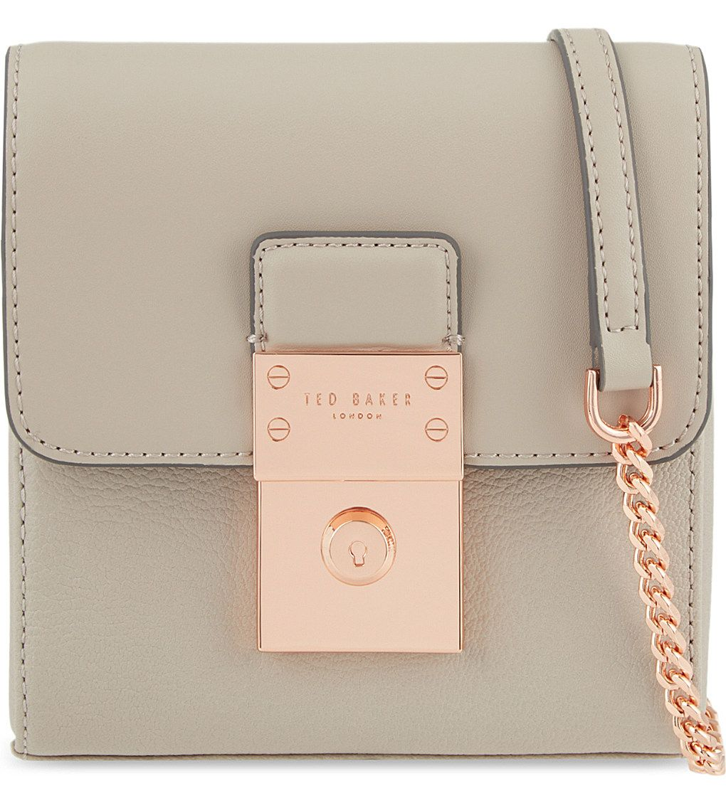 8a5e1d852555 TED BAKER - Luggage lock small cross-body bag