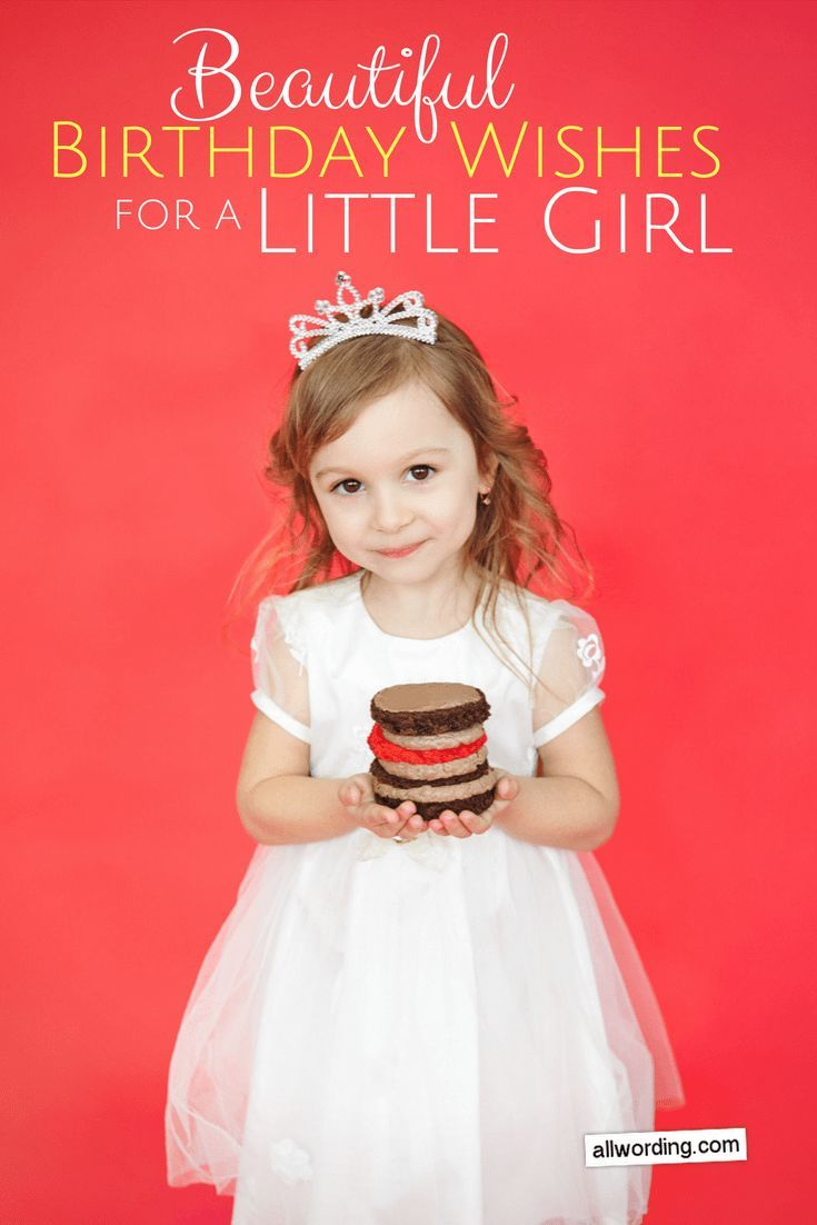 Cute Birthday Cake Wishes For Baby Girl Best Birthday