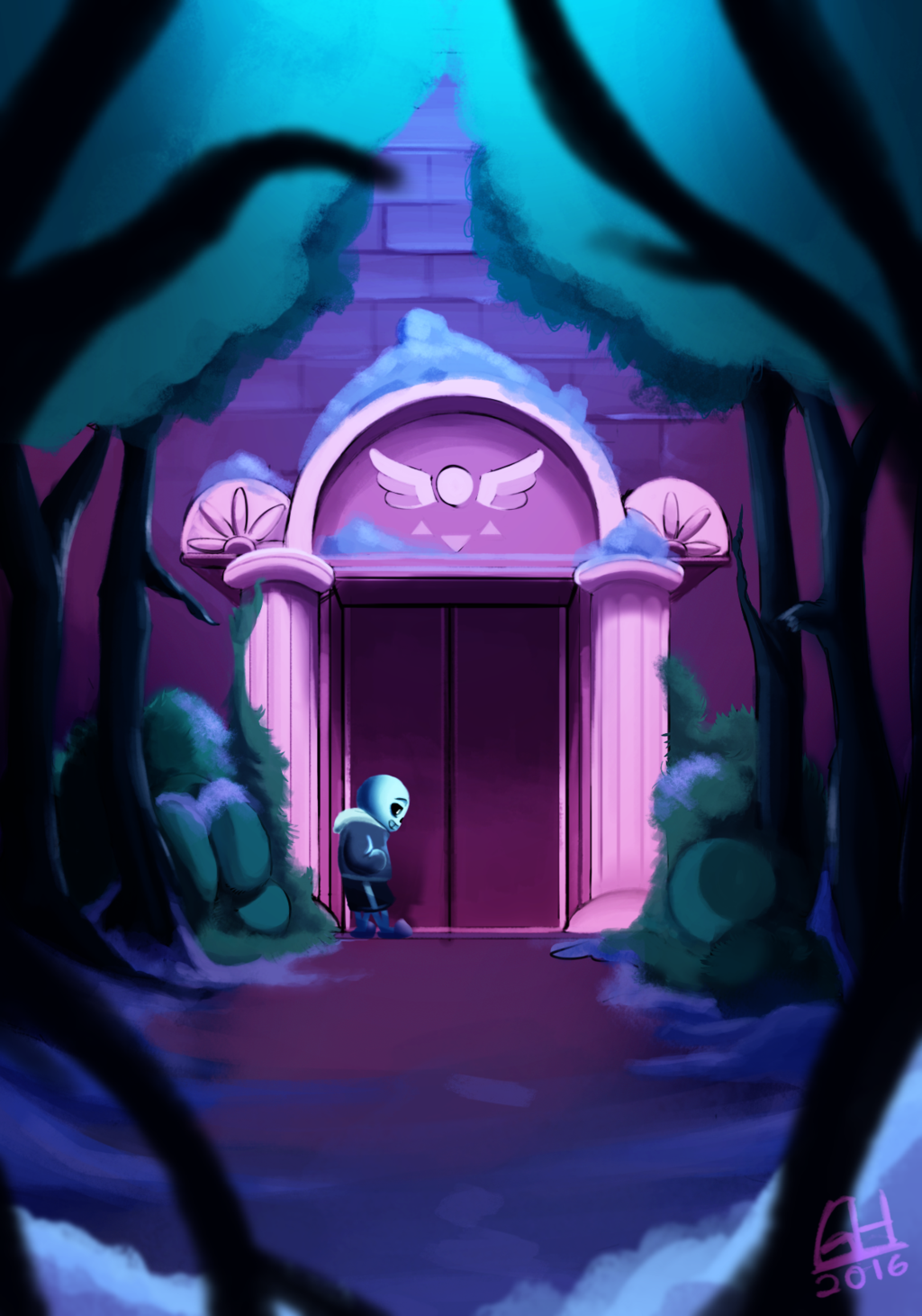 The Door by on DeviantArt (With