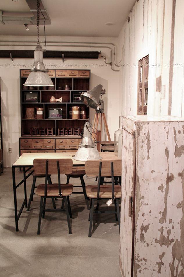 deko donnerstag mit vintage im industrie stil mottos. Black Bedroom Furniture Sets. Home Design Ideas