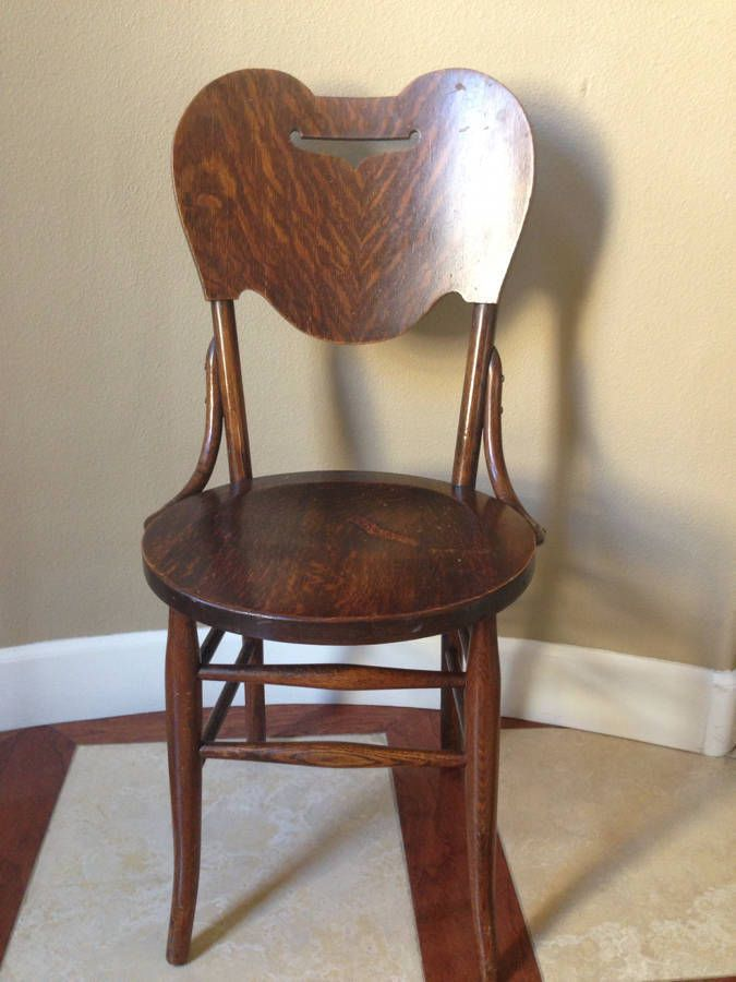 details about antique crocker chair co sheboygan solid 87968
