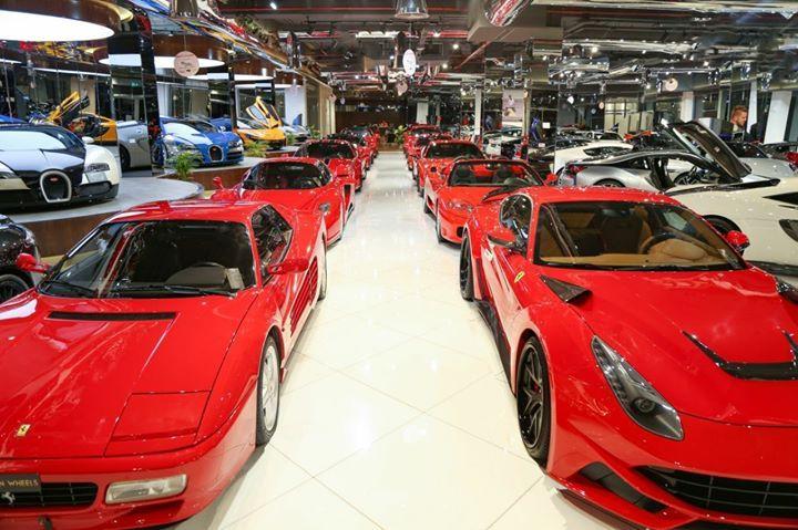 Ferrari Line Up In Our Showroom Luxury Cars Dubai Luxury Cars