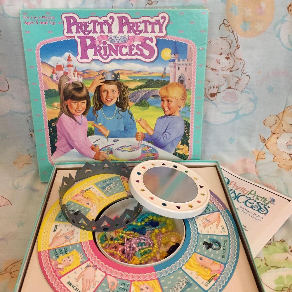 PRETTY PRETTY PRINCESS GAME Jewelry Board Game 1990/'s Classic NEW FACTORY SEALED