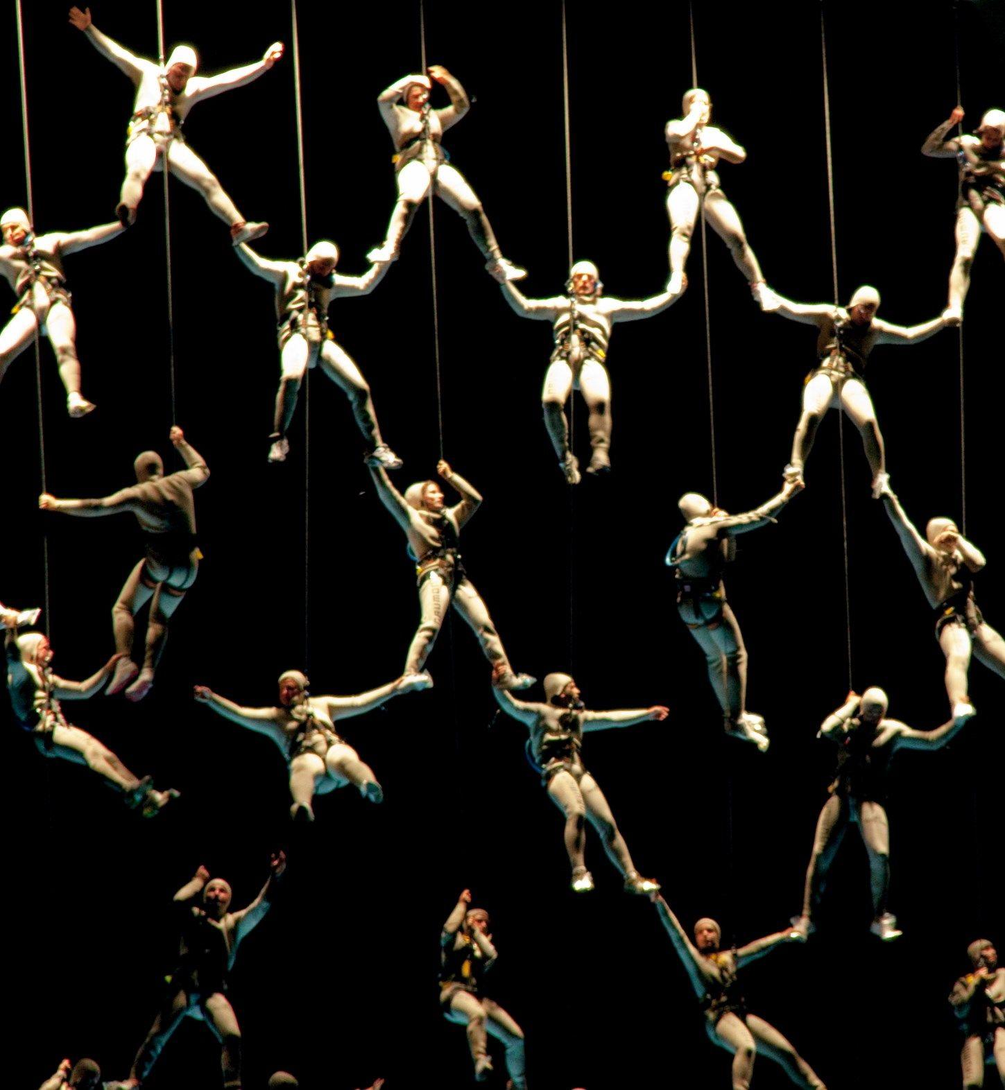La Fura Dels Baus Set Design Theatre Scenic Design Performance Art
