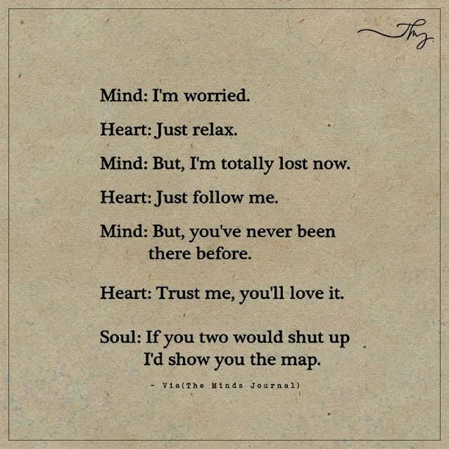 Mind: I'm worried.