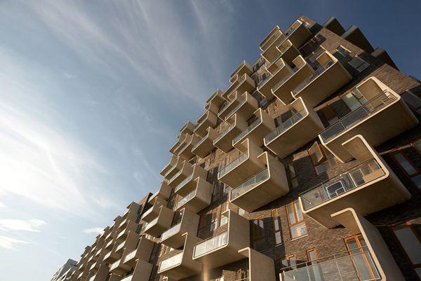 Ørestad Apartments, Copenhagen, Denmark