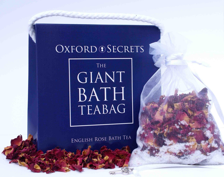 English Rose Giant Bath Teabag, £7.50