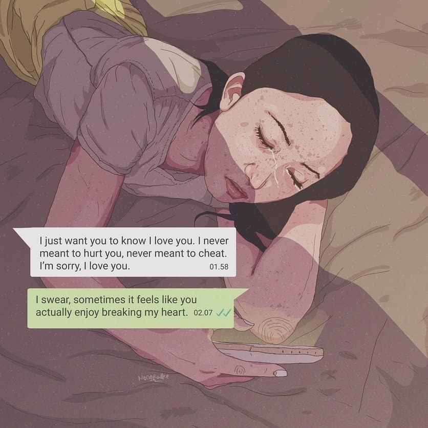 13 Illustrations About Feeling Lonely Even When Youre With Someone 9 Objek Gambar Latar Belakang Gambar