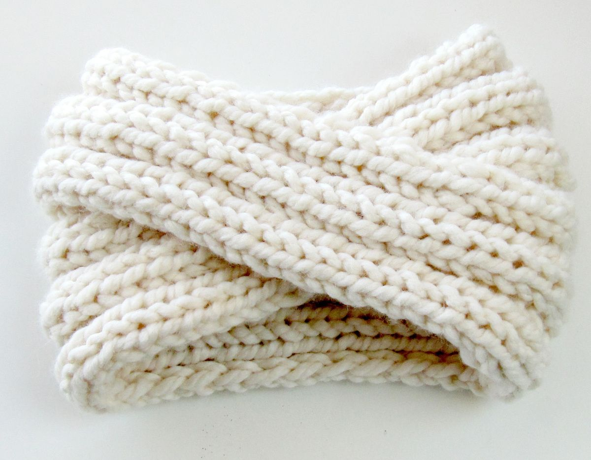 chunky knit turban headband ear warmer | Guardar | Pinterest ...