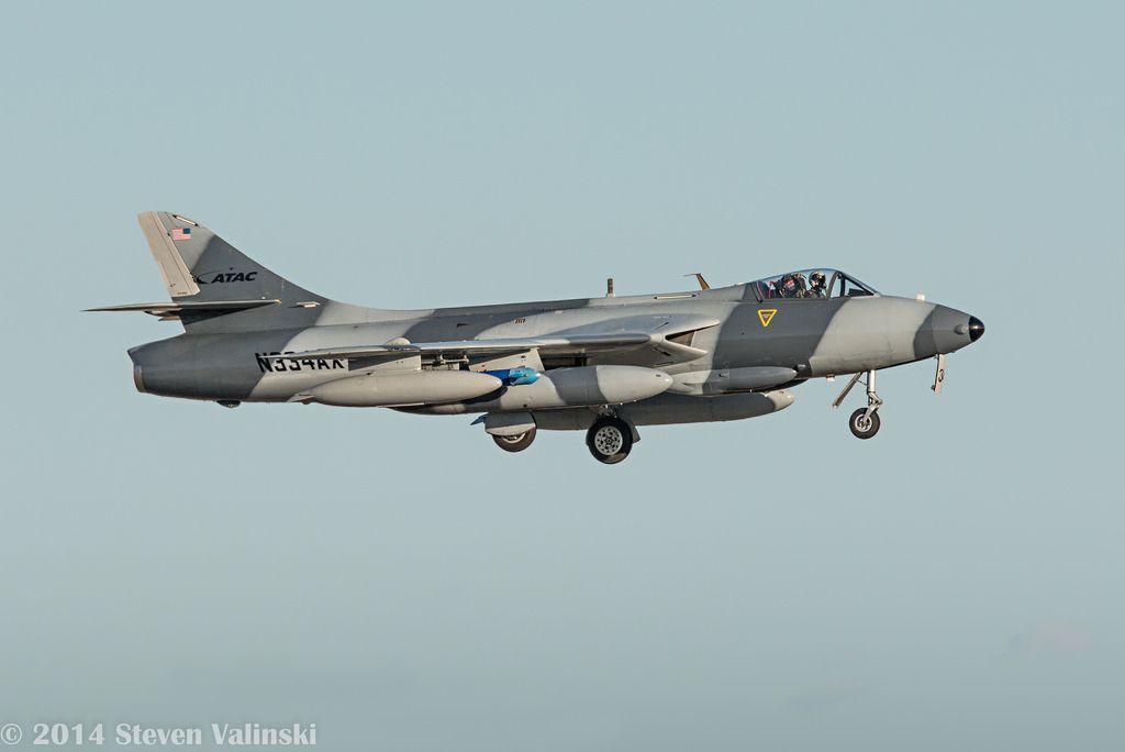 Hawker hunter mk58 aviation fighter jets civil aviation