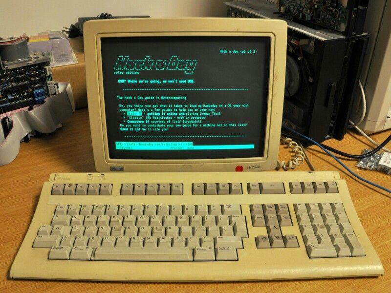 VT320 terminal | Vintage Computing in 2019 | Computer love