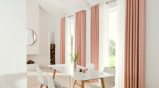horizon salmon curtains - Get the look with eyelet curtains. Explor ...