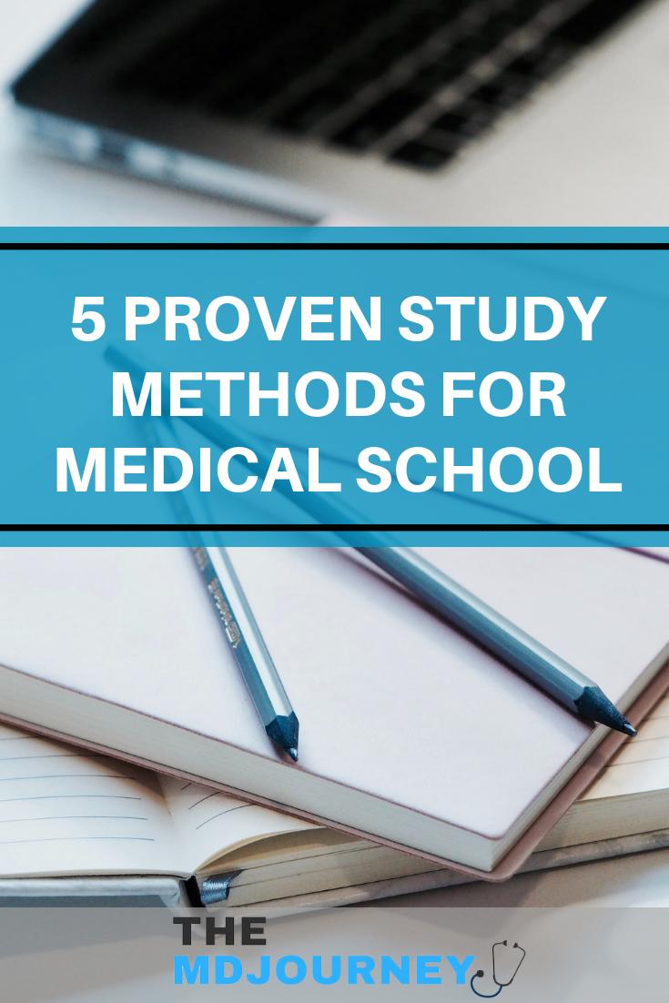 5 Proven Study Methods For Medical School | Medical School