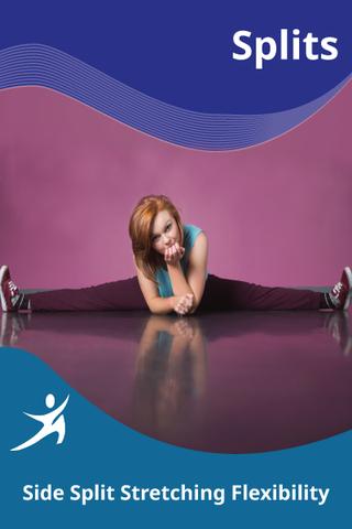 dance side straddle middle split  side split dancer