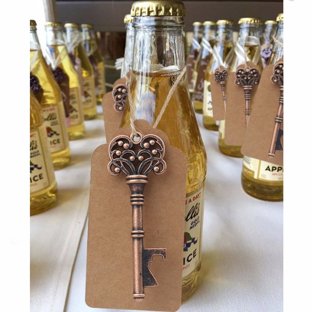 Home & Garden Party Favors Festival Supplies Bottle Opener Wedding Souvenirs Vintage Beer Opener Keychain Gift Package Party Favors Event Party Supplies Wh