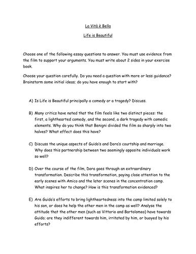 Essay On Importance Of English Language La Vit  Bella Essay Questionsdoc A Modest Proposal Essay Topics also Learn English Essay Writing La Vit  Bella Essay Questionsdoc  Movie Activities  Pinterest  Essay Health