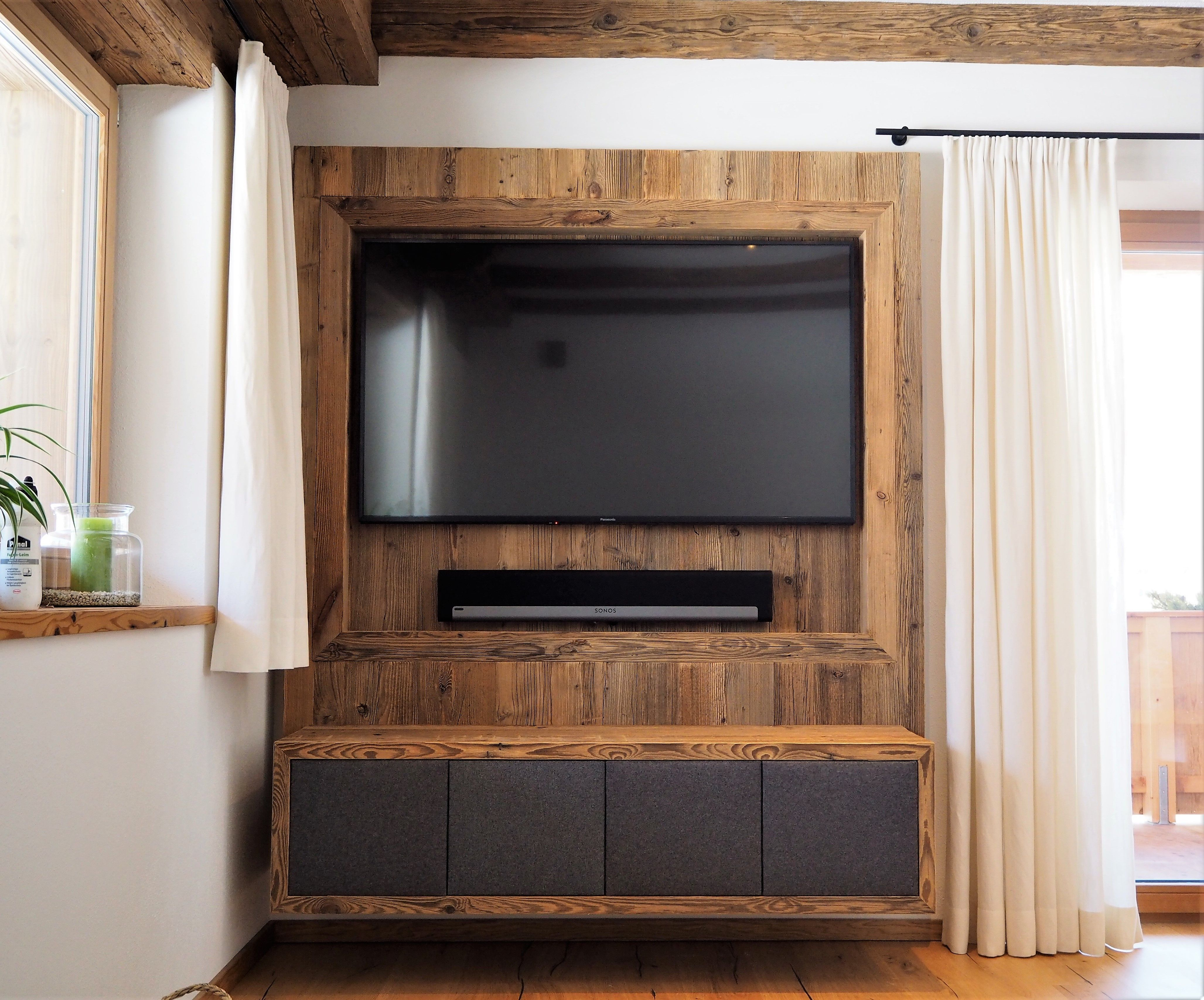 Wohnzimmer Ideen Altholz  Home, Home decor, House in nature