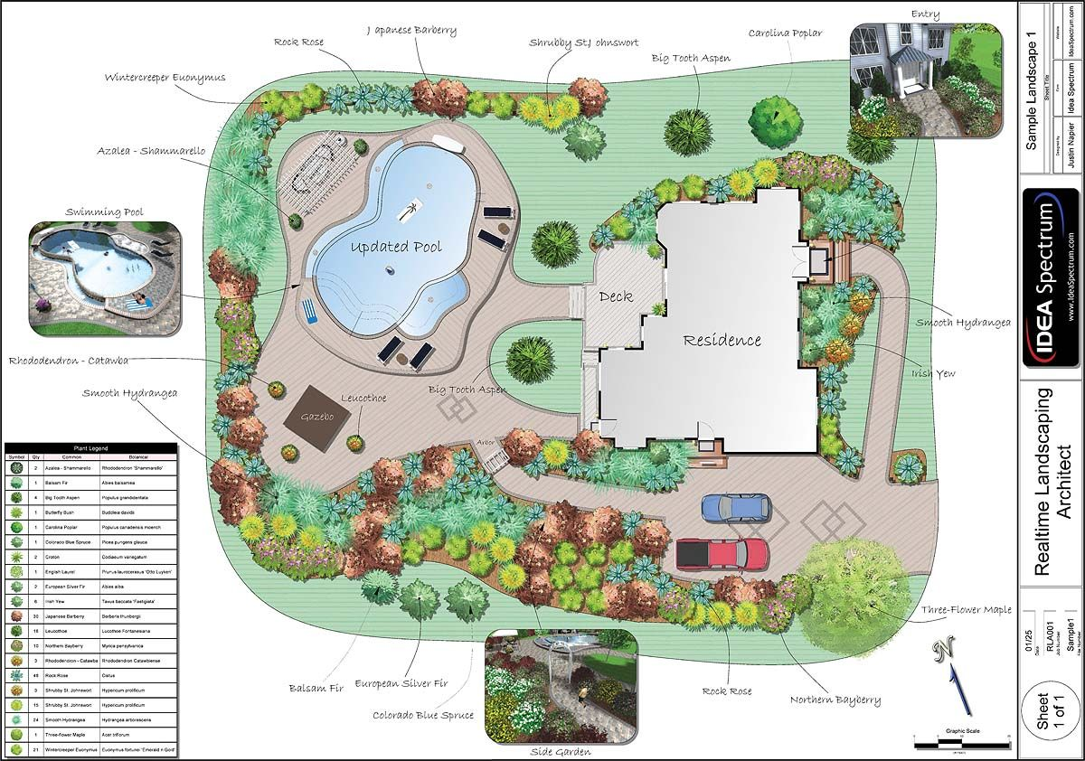 Professional landscape plan software pertaining to for Professional landscape