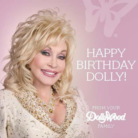 Happy Birthday Dolly Parton