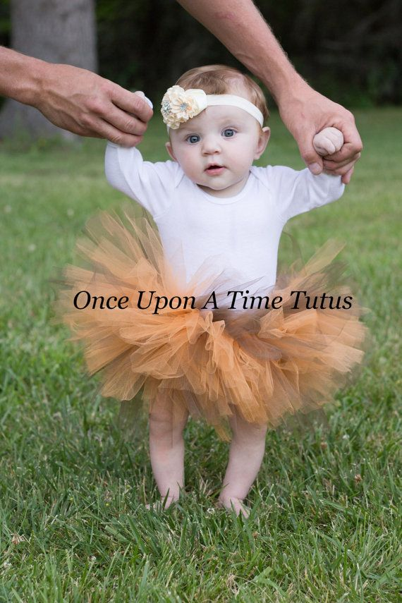 100200d38964 Orange Brown Autumn Colors Tutu - All Sizes - Baby Girl Newborn 3 6 ...