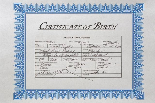 How to Get a Certified Copy of Your Birth Certificate Birth - copy certificate picture