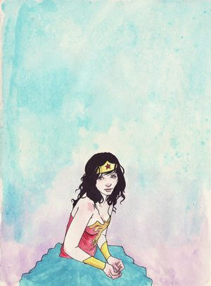 Wonder Woman by Cayetano Valenzuela.