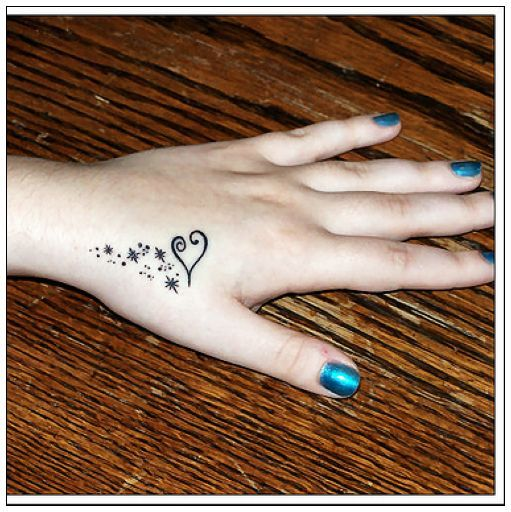 Small Hand Tattoo For Women