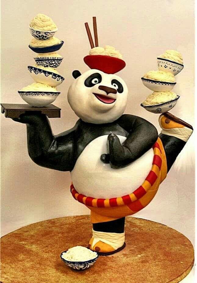 Panda cake | Amazing cakes, Panda cakes, Beautiful cakes