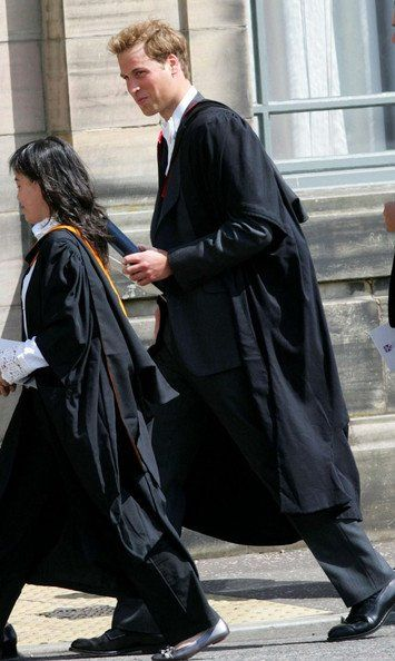 Graduation Day For William And Kate - 23 June 2005
