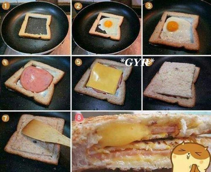 Rico desayuno mmm