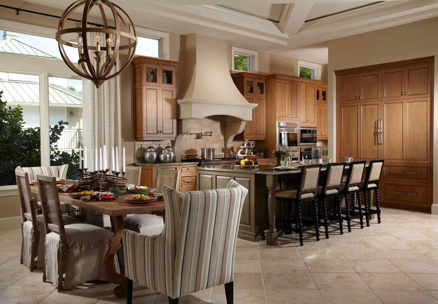 Transitional Eat in Kitchen | Free Style Interiors | Bonita Springs ...